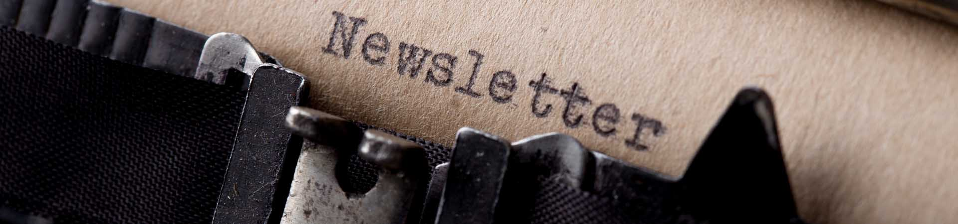 Newsletter – Registrierung